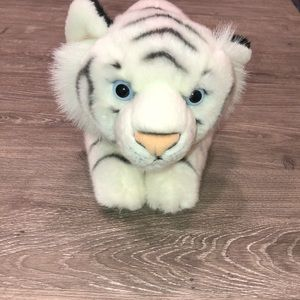 Busch Gardens White Tiger Stuffed Animal